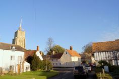 Lovely view of Ashwell village on the cold sunny winters morning.  http://alderbarnholidayhome.com/