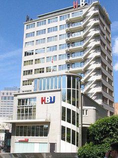 Dudok, Erasmushuis, Rotterdam 1938-1939