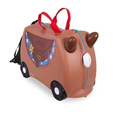 Bike Child Seats - Trunki The Original RideOn Suitcase NEW Bronco Brown ** Click image to review more details.