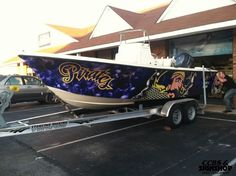 How awesome is this ECU Boat? University Dorms, University Outfit, Ecu Football, Ecu Pirates, East Carolina University, Boat Painting, Pirate Life, Clawfoot Bathtub, Purple Gold