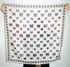 Cat Scarf, #cat, #kitty, #scarf