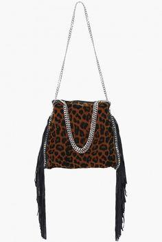 Stella Leopard Purse in Leopard | Necessary Clothing