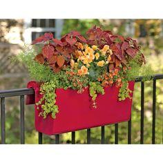 Balcony Railing Planter | Buy from Gardener's Supply
