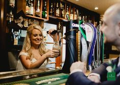 Pulling a pint in the Butler's Rest! Wedding Spot, Post Wedding, Small Intimate Wedding, Butler, Ireland, Rest, Bar, Irish