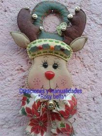 Coisinhas da Renata: Enfeites de Maçaneta Para o Natal....