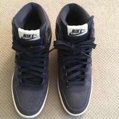 best service 502b4 707b9 Nike Shoes   Women S Denim Nike Sky Hi Dunks   Color  Blue   Size  7.5