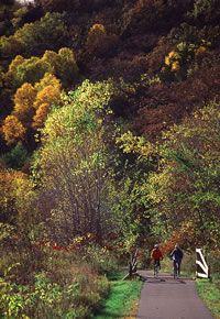 Lanesboro, MN  Root River State Bike Trail