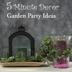 Garden Party Ideas #candigardenparty