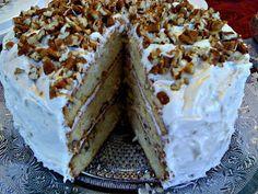 Sweet Tea and Cornbread: Italian Cream Cake...a Southern Favorite!