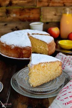Tea Recipes, Sweet Recipes, Cake Recipes, Cooking Recipes, Almond Cakes, Perfect Food, Sweet Bread, Cakes And More, Yummy Cakes