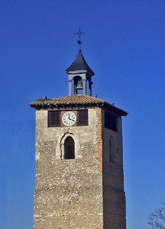 La Torre del Reloj de Peñafiel en la provincia de Valladolid (Castilla y León) www.hojaderutas.com