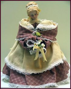 Victorian Dolls, Victorian Traditions, The Victorian Era, and Me: Mehitable Is Getting Ready For The Afternoon Tea - Victorian Lady Doll
