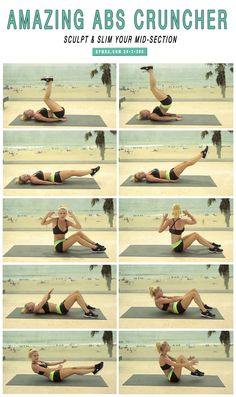 Amazing Abs Cruncher Workout