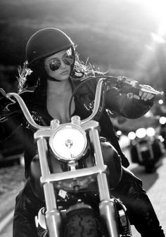 Biker chic--Amy Sgt of arms
