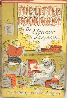 The Little Bookroom, written by Eleanor Farjeon, illustrated by Edward Ardizzone Little Books, Good Books, My Books, Edward Ardizzone, Childhood Images, Vintage Children's Books, Antique Books, Vintage Art, Children's Literature