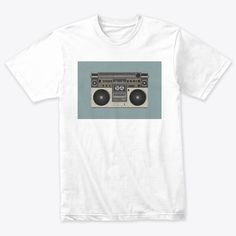 Radio Cassettet Shirt Designs 24st Products from T-shirt 24Store.