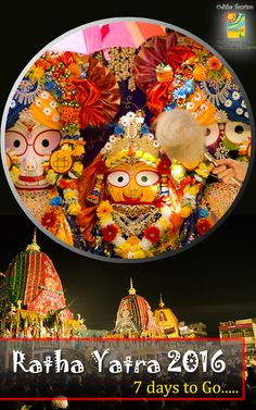 LordJagannath is being prepared for the grand celebration-RathaYatra. Tourism, Celebration, Plates, Tableware, Food, Turismo, Licence Plates, Dishes, Dinnerware