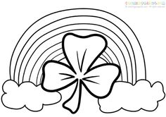 118 best Coloring: St.Patrick\'s Day images on Pinterest in 2018 ...