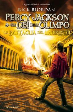 Percy Jackson e gli dei dell'Olimpo: la battaglia del labirinto - R. Riordan