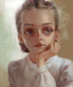 Stylized Portraits on Behance
