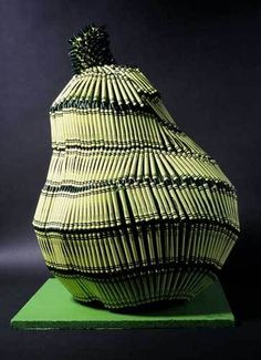crayon sculpture - Herb Williams