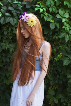 Maria! her hair is beautiful