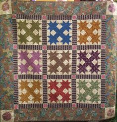 Devils Claw quilt pattern by PatchworkFun on Etsy, her designs are amazing