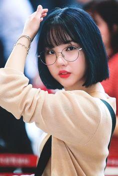 Gfriend-Eunha 180801 Gimpo Airport to Japan Cute Asian Girls, Beautiful Asian Girls, Cute Girls, Kpop Girl Groups, Kpop Girls, Jung Eun Bi, G Friend, Asian Hair, Ulzzang Girl
