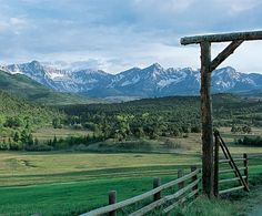 Ralph Lauren's Double RL Ranch in Colorado... It is absolutely perfect. It's perfect. It's just really perfect.