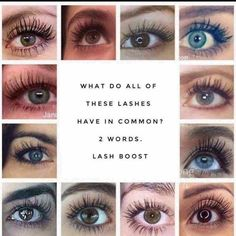 the r f lash boost can be used on your brows too it s not just you can have lashes like these use the link below and order yours go