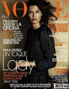 Bianca Balti for Vogue Spain October 2012