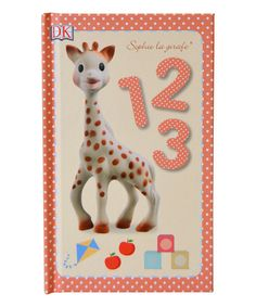 Little ones can practice counting with this adorable book featuring Sophie the Giraffe to help along the way. Baby Sense, Toddler Books, Natural Baby, Natural Rubber, Long Legs, Little Ones, Objects, Activities, Toys