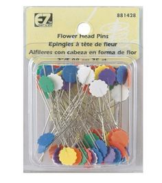 Flower Head Pins-75/PkgFlower Head Pins-75/Pkg,