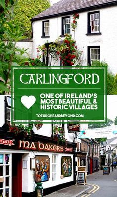 Awe-inspiring photos and insider info on the beautiful village of Carlingford, wedged between Dublin and Belfast, and part of Ireland's Ancient East http://toeuropeandbeyond.com/carlingford-ireland-ancient-east/ #travel #Ireland #IrelandsAncientEast