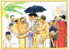 kashi yatra cartoon