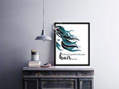 #Hairdresser   #Hairstylist   #BeautySalon   #Woman   #Inspiration Poster   #ArtPrint   #Printable Quote   #Typography by InspirationWallDecor on Etsy. Check more #digitalprint #walldecor #artprint themed at my #etsy store:  www.etsy.com/shop/InspirationWallDecor