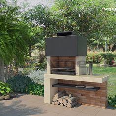 How Does Pergola Work Terrace Design, Patio Design, Garden Design, Outdoor Barbeque, Outdoor Fire, Outdoor Decor, Barbeque Design, Parrilla Exterior, Custom Bbq Pits