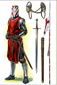Armure du XIVe siècle.