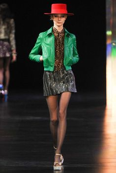 Saint Laurent Spring 2015 Ready-to-Wear Fashion Show: Complete Collection - Style.com