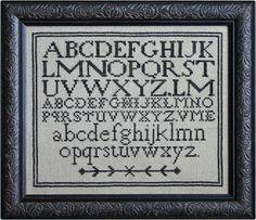 Plain Alphabet from La-D-Da