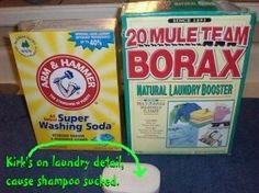 Homemade Laundry Detergent–Dry and Liquid - more than just the recipe, she explains how to make it a liquid and how to determine how much to use.    in Cleaning Products,DIY