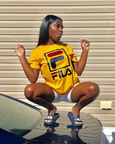 Best Spring Outfits Casual Part 23 Curvy Outfits, Swag Outfits, Dope Outfits, Girl Outfits, Casual Outfits, Fashion Outfits, Look Festival, Foto Casual, Dark Skin Girls