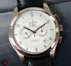 8aad0fdee9e Zenith Grande Class El Primero Chronograph 18k White Gold 44mm Silver Dial