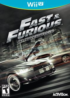 Fast and Furious, this is a racing rated for teens and older. This is a team action racing games, get behind the wheel of some of the world's most intense rides and take on high-stakes driving missions cooperatively with a friend or computer A.I.