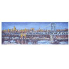 Crestview 'Cross Over' Painting Print on Canvas