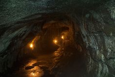 Thurston Lava Tube. Walk through a 500 year old lava tube! There's a tropical rain forest on the other side.