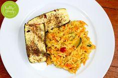 Kokosovo-zeleninové rizoto s pečenou cuketou — www.healthyhappysimi.com