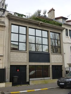 Boulogne Billancourt, Villa Dora Gordin ( A.etG.Perret Architectes 1929)