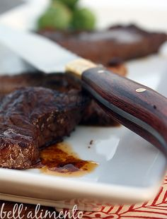 Bistecche Piccanti {Spicy Steak}