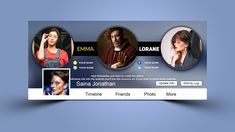 Fashionista Facebook Cover .PSD Template Facebook Cover Photo Template, Role Of Social Media, Free Facebook, Friend Photos, Logo Templates, Cover Photos, Cover Design, Photoshop, Activities